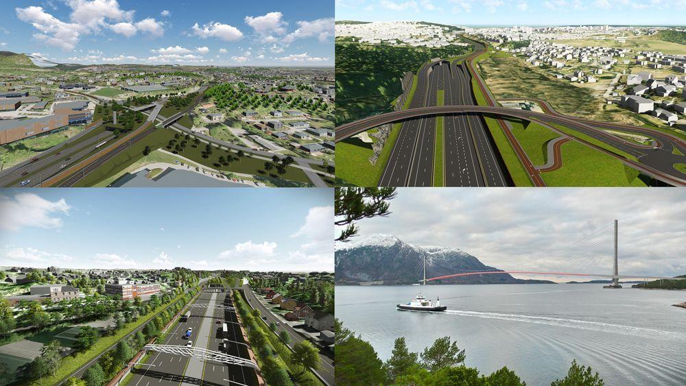 De ti mest ulønnsomme veiprosjektene i NTP har en negativ samfunnsøkonomisk nytte på 90 milliarder kroner.