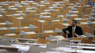 Frykter koronaviruset i kontorlandskap