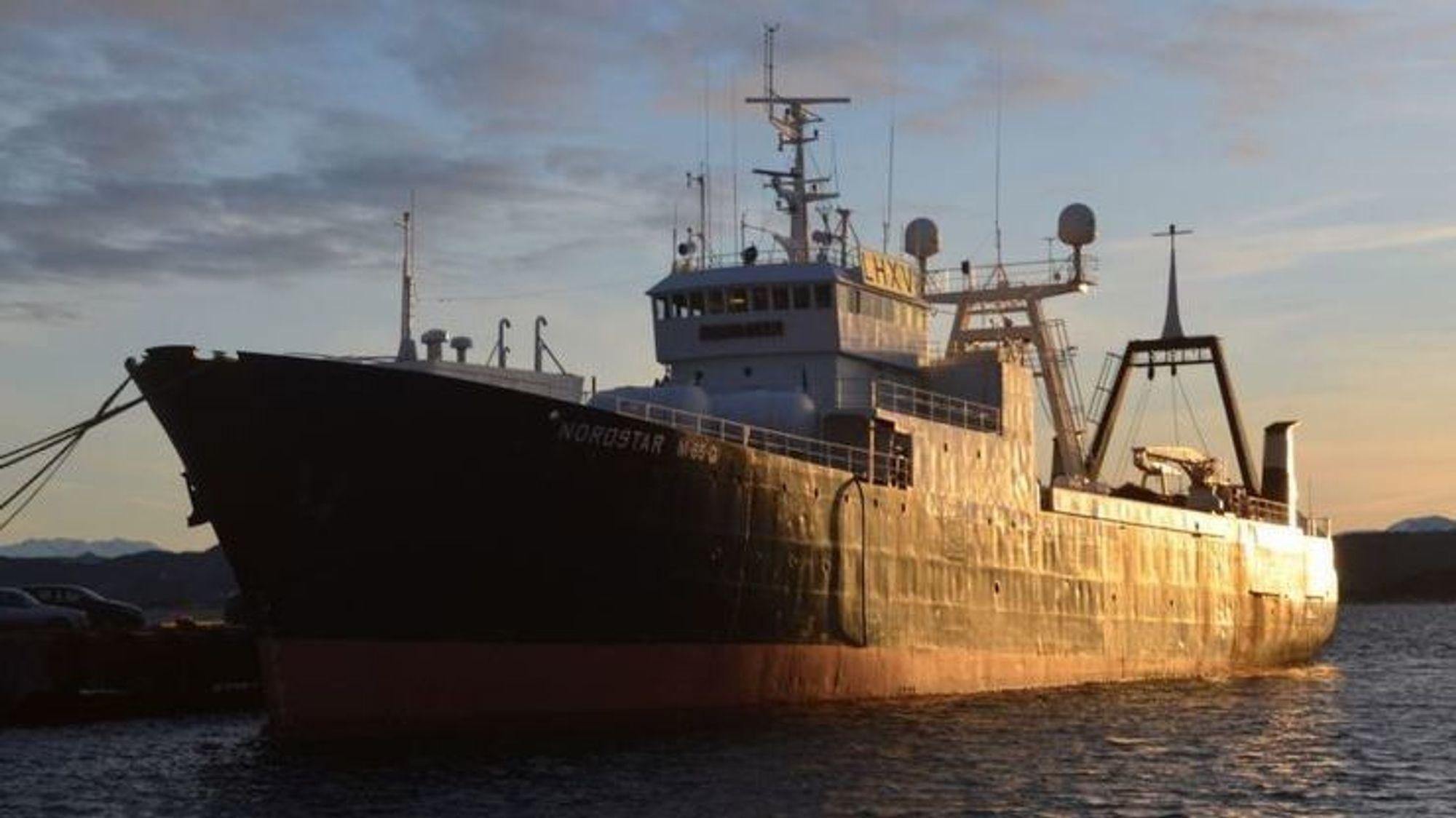 Rederiet er dømt til å betale 700.000 kroner i bot etter en ulykke på Nordstar.