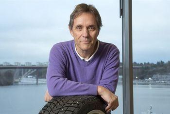 Arne Sköldén, produktekspert hos Michelin.