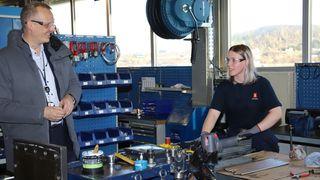 I Brattvåg har de produsert hydraulikk-vinsjer siden 1937. Nå får de et nytt bein å stå på