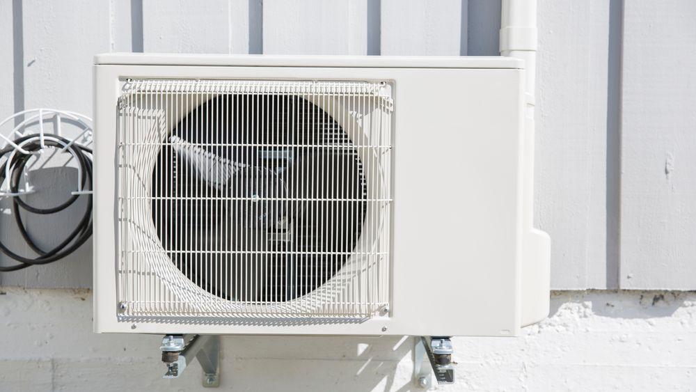 F-gasser som HFC er det mest utbredte kjølemiddelet i varmepumper og klimaanlegg.