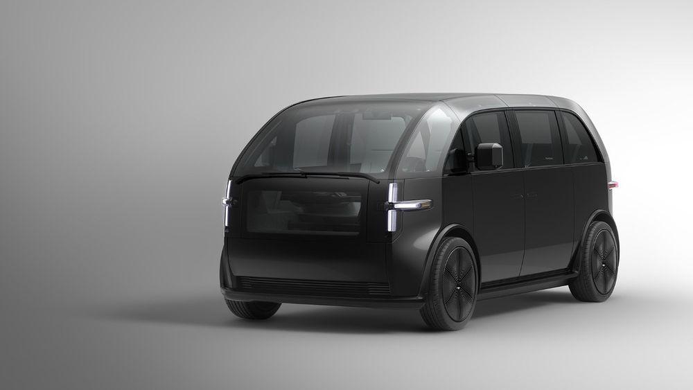 Canoos første konseptbil, vist frem i høst.