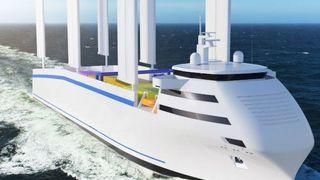 Dobler effekten av seil på skip – kan kutte drivstoff opp mot 40 prosent
