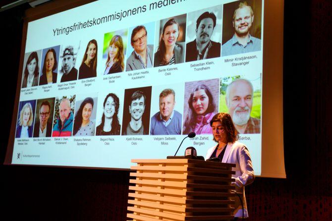 Ytringsfrihetskommisjonens leder Kjersti Løken Stavrum