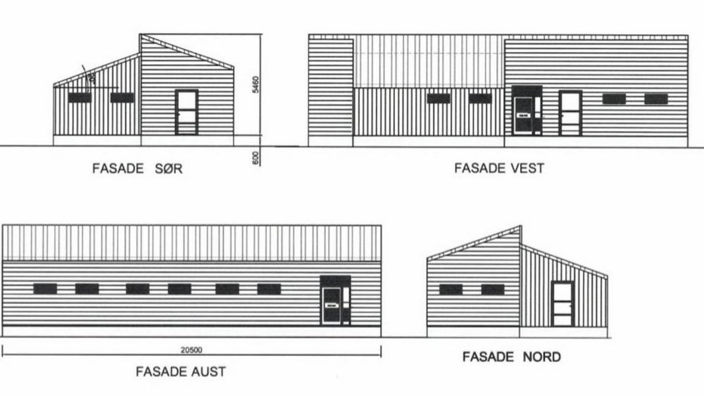 Fjord1 og kommunen krangler om hvor et teknisk bygg skal plasseres ved fergekaia i Våge i Tysnes.