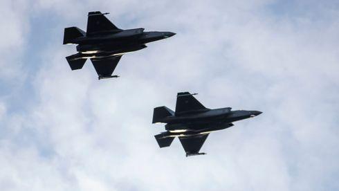 Fire norske F-35 sendes ut på skarpt oppdrag