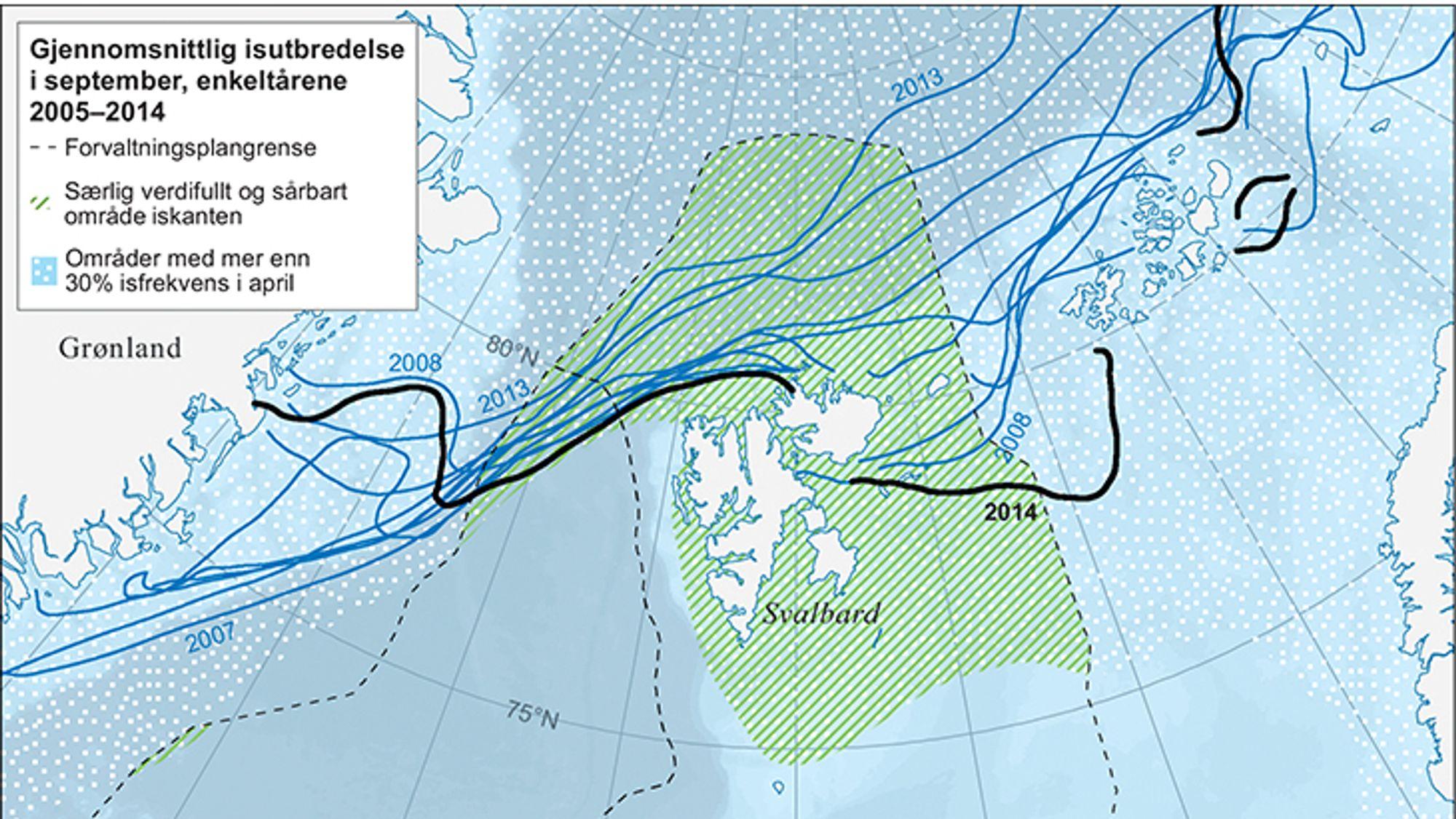 Oslo senterparti vi lflytte iskanten sørover for å beskytte sårbar arktisk natur.