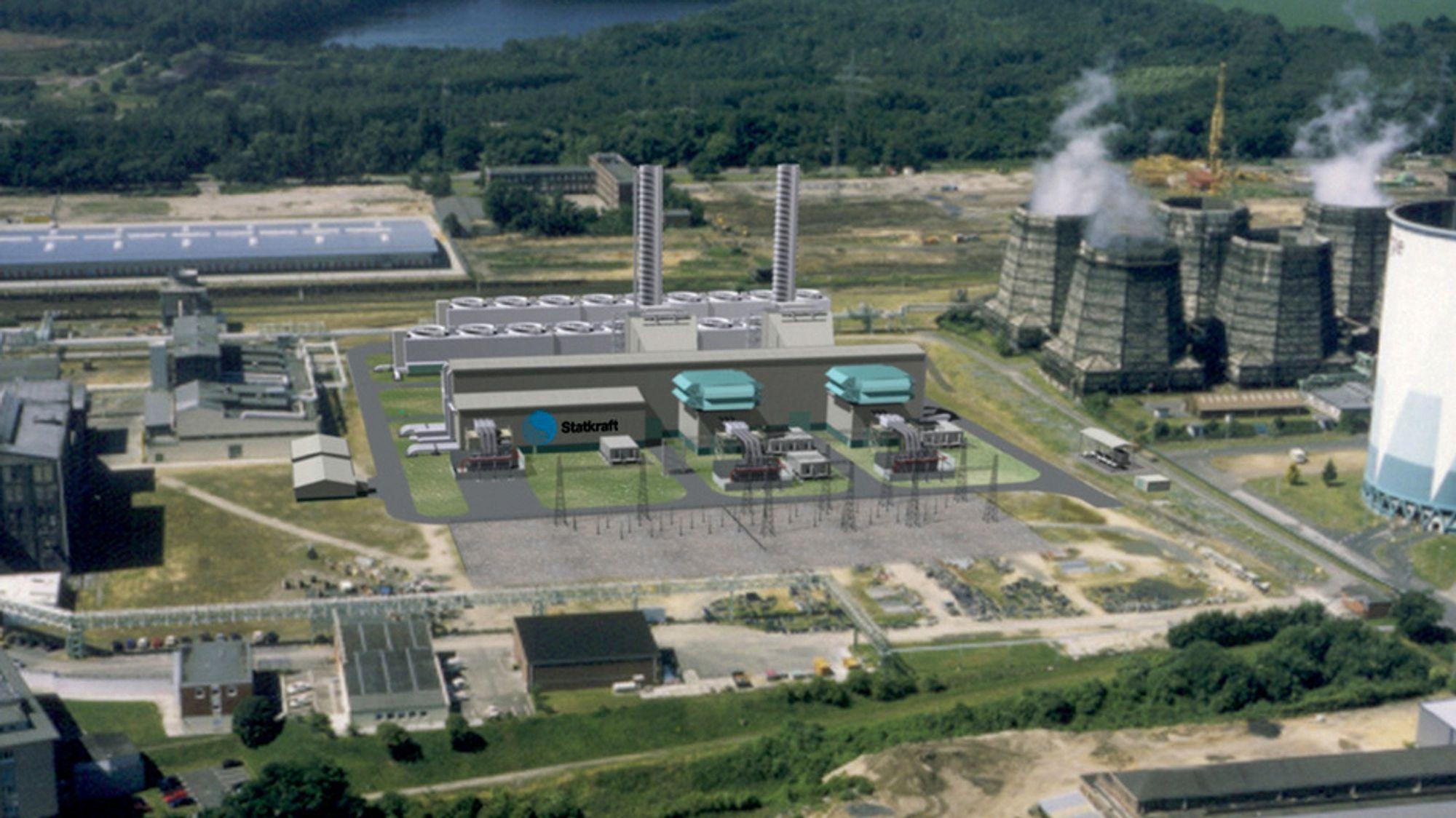 Mens de norske gasskraftverkene legges ned, øker produksjonen hos Statkrafts gasskraftverk i Knapsack  i Tyskland.