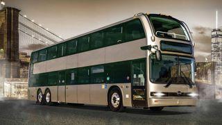 Introduserer ny elektrisk dobbeltdekkerbuss