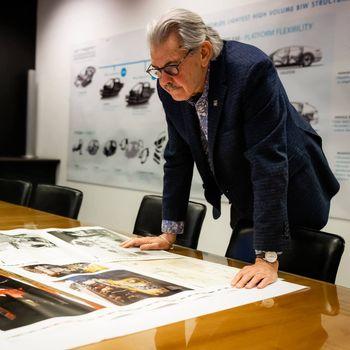 Gordon Murray er mannen bak den ikoniske McLaren F1.