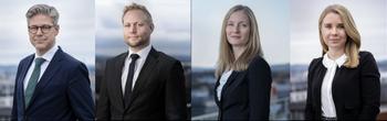 F.v.: Peter Enholm, Ola Hermansen, Tone Hostvedt Aarthun og Pernille Edh Hasselgård