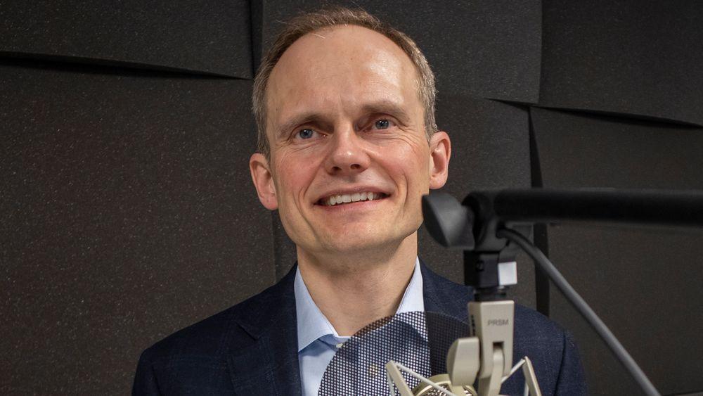 Aluminiumsmann: siv. ing. Egil Hogna er konserndirektør for ekstruderte løsninger i Hydro.