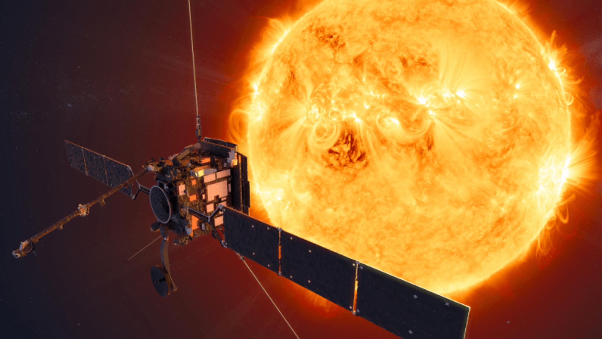 Solar Orbiter skal gå i en bane som gir bedre oversikt over solas poler. Dermed skal vi få mer kunnskaper om sola, og bedre kunne forutsi solstormer som påvirker strømnett nede på jorda.