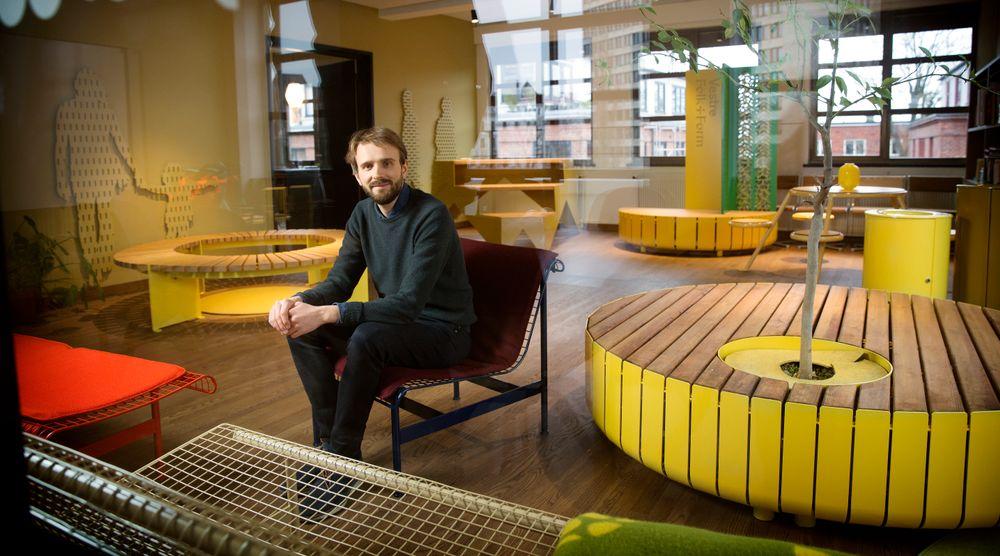 Jan Christian Vestre tok over familiebedriften 25 år gammel. Nå skaper bedriftens utemøbler sosiale møteplasser på Times Square i New York.