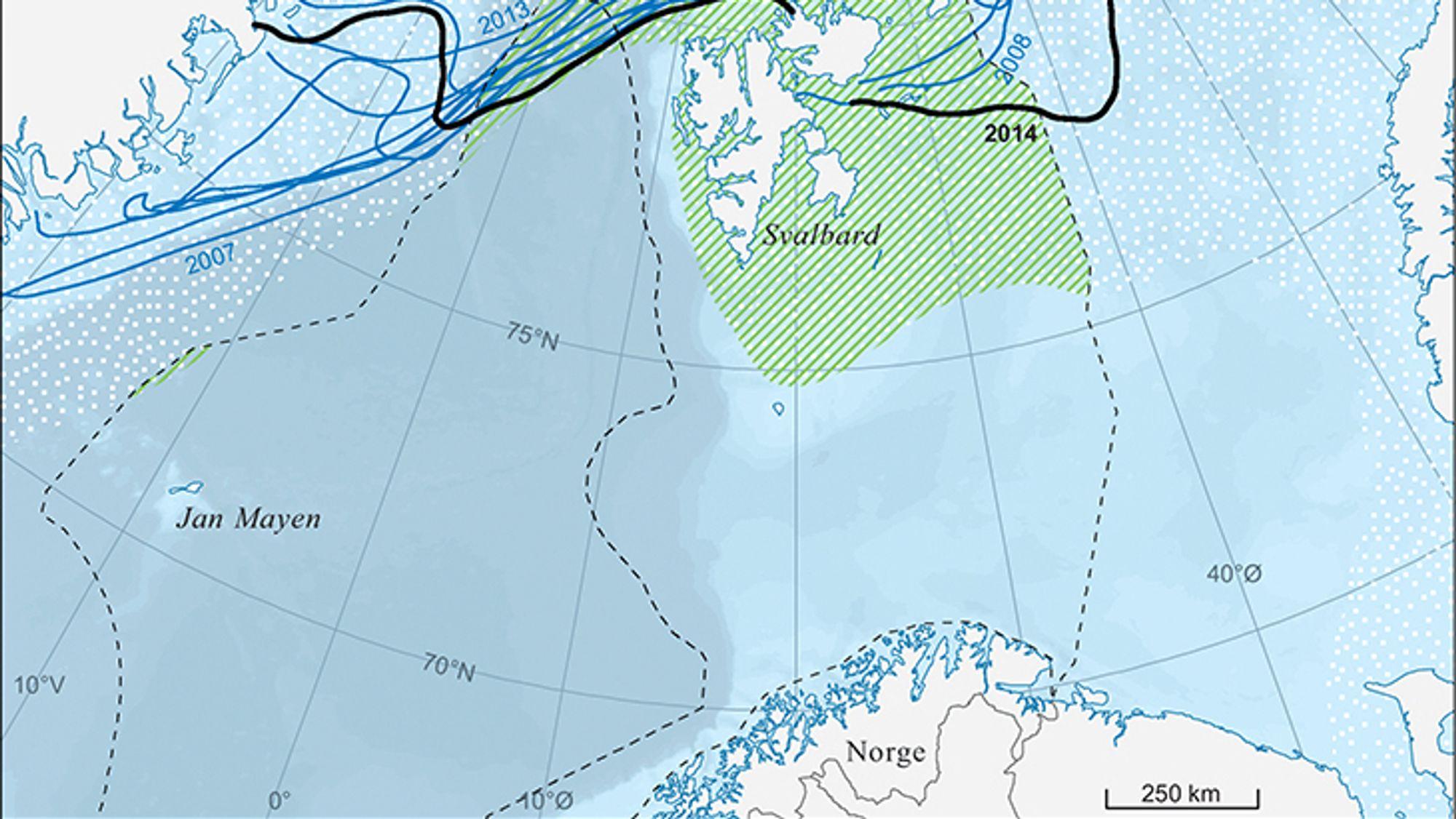 Troms AP åpner for å flytte iskanten sørover.