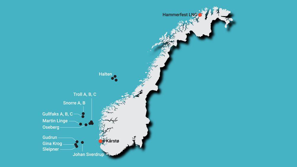 Flytende havvind og enorme strømkabler: Her er Equinor-prosjektene som skal kutte utslipp på norsk sokkel