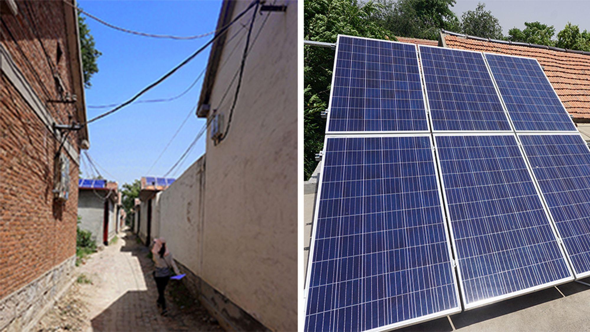 Nå etableres solcellepanel også på den kinesiske landsbygda. – Den raske veksten skyldes i stor grad at myndighetene har klart å etablere gode støtteordninger. Samtidig har de vært nødt til å finne en balanse slik at støtteordningene ikke blir for gode og at det bygges ut for mye på en gang, sier Marius Korsnes.