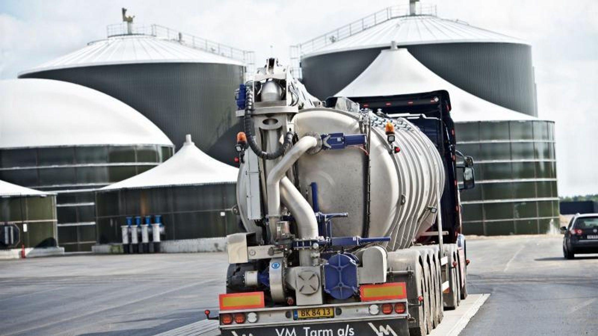 Sønderjysk Biogas ved Vojens er et av Danmarks største biogassanlegg, og ble åpnet høsten 2016.