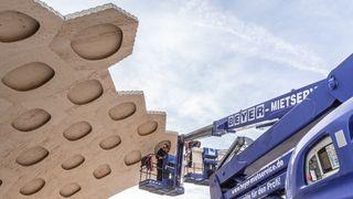 Kopierer kråkeboller for å oppnå rekordlange spenn i trekonstruksjoner