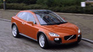 Volvo designet bil med gjennomsiktig sidesøyle – den kom aldri på markedet