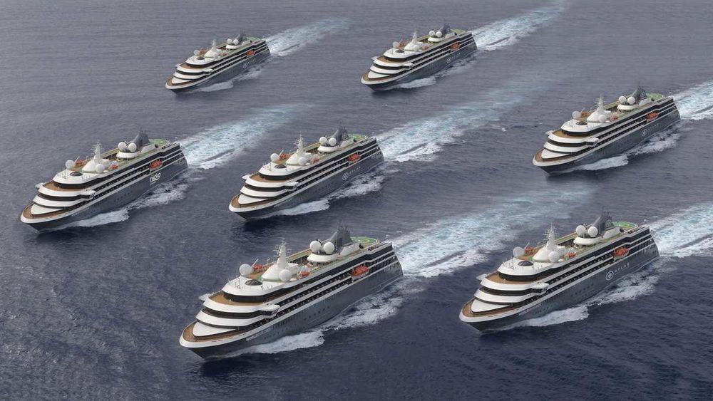 Syv identiske cruiseskip med plass til 200 passasjerer. Det portugisiske verftet West Sea Viana bygger skipene for rederiet Mystic Cruises. Det første ble levert i 2019. Siste leveres 2021.