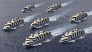 Kongsberg får cruise-kontrakt til 300 millioner kroner