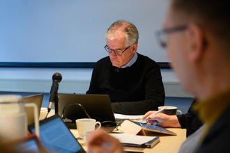 PFU-leder Alf Bjarne Johnsen under PFU-møtet 26. februar.