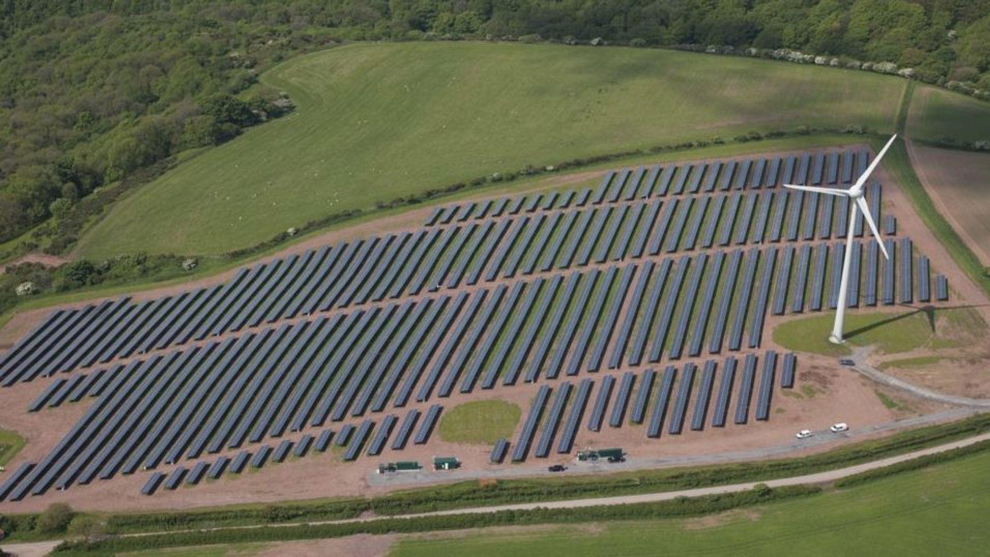 Solenergi leveres nå til svært lave priser i Tyskland.