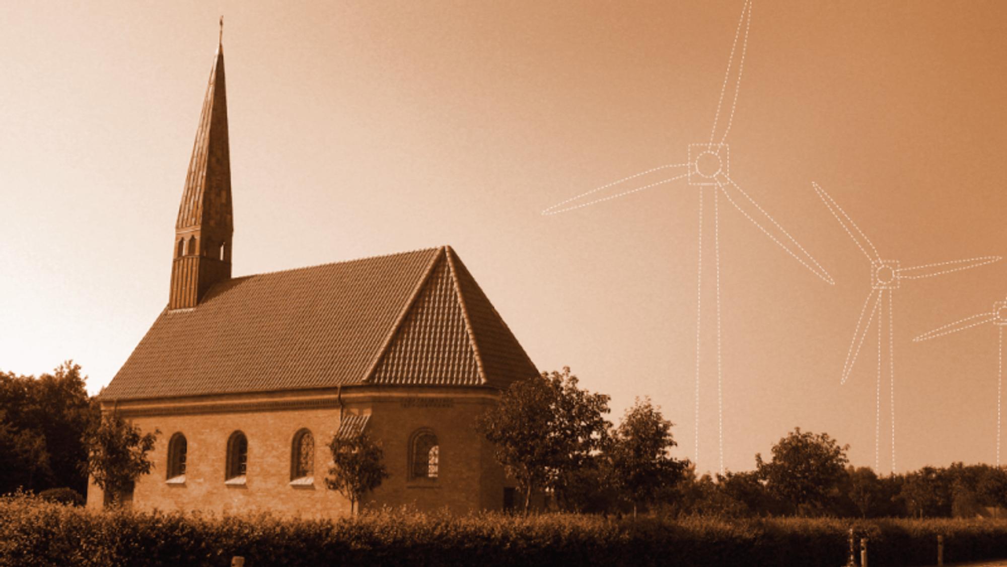 Dansk Energi er bekymret for at den danske kirken bremser bærekraftig utvikling.