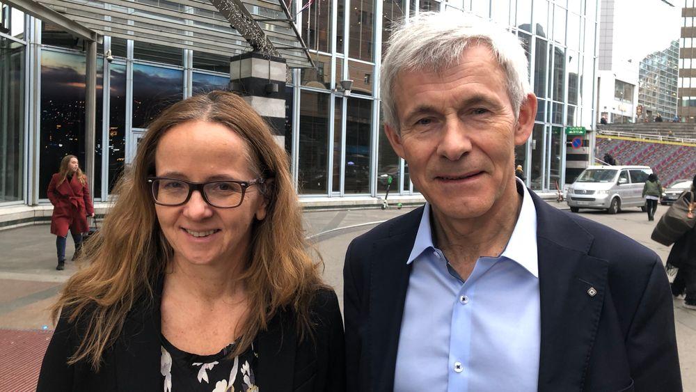 Professor og dekan Monica Rolfsen ved fakultet for økonomi og Olav Bolland, professor og dekan ved fakultet for ingeniørvitenskap. ved NTNU.