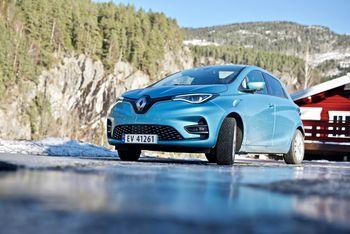 The Renault Zoe ZE 50 has a range of almost 400 kilometers.