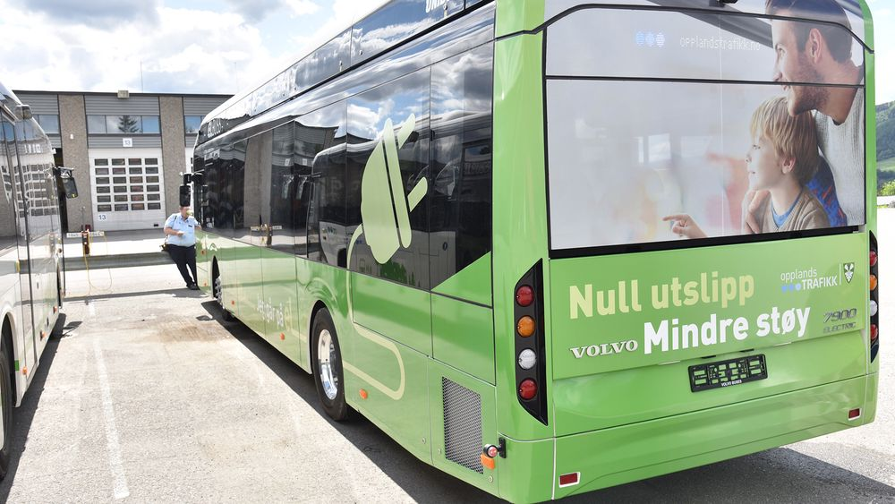 ABB leverer depot- og pantograflading for 23 elektriske busser som settes i drift i Bærum/Oslo juni 2020 (Illustrasjonsfoto ABB).