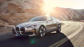 BMW Concept i4 skal være svært lik produksjonsutgaven som vises neste år.