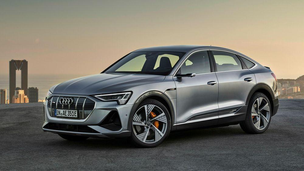Igjen topper Audi e-tron norske salgsstatistikker. Dette er Sportback-versjonen, som kommer snart.