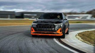 Audi E-tron Sportback S er verdens første serieproduserte elbil med tre el-motorer