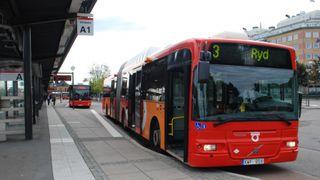 Om fire år skal det gå selvkjørende busser i 100 kilometer i timen i denne svenske byen