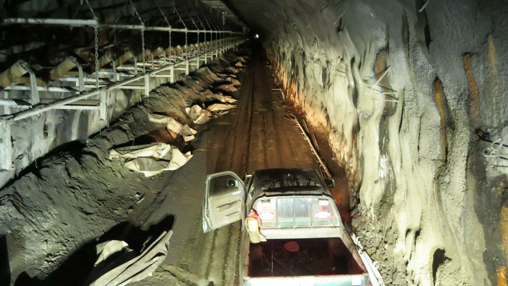 Ryddet: Alle installasjoner i kullgruva Lunkefjell ved Svea på Svalbard er fjernet. Den politiske viljen til mer kullgruvedrift er smeltet bort