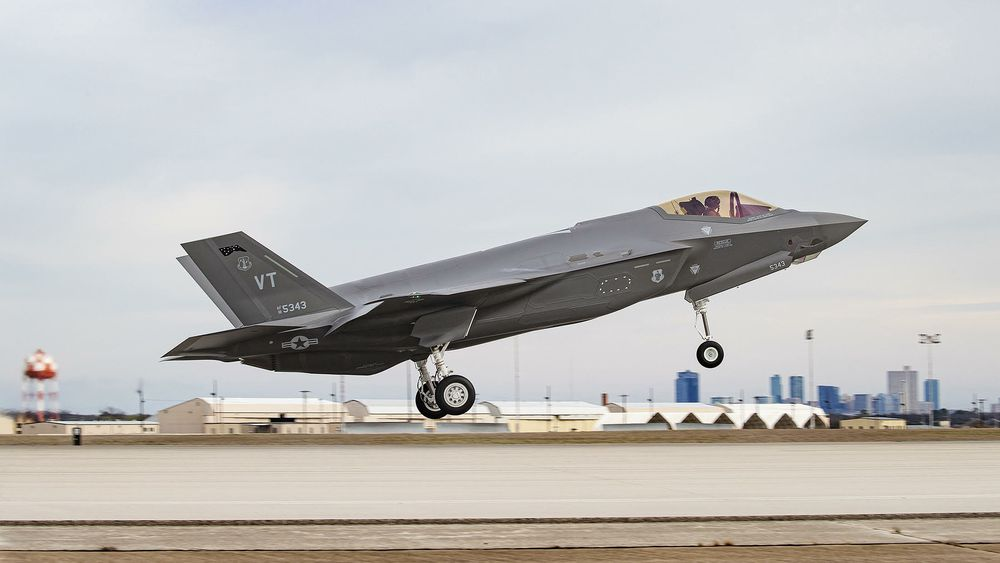 F-35 nummer 500 skal til Burlington Air National Guard Base i Vermont.