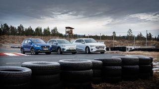 Vi vintertestet tre elektriske SUV-er. Én egner seg best til langtur