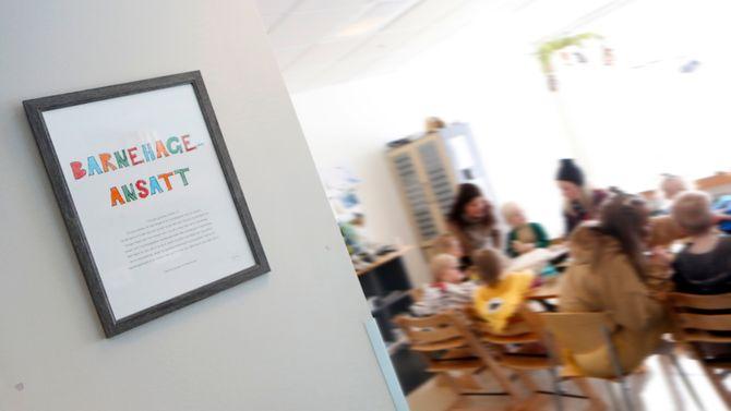 Barnehageansatt - hva betyr det? Det er et av temaene de ansatte i Gnist Trøa har jobbet mye med det siste året.