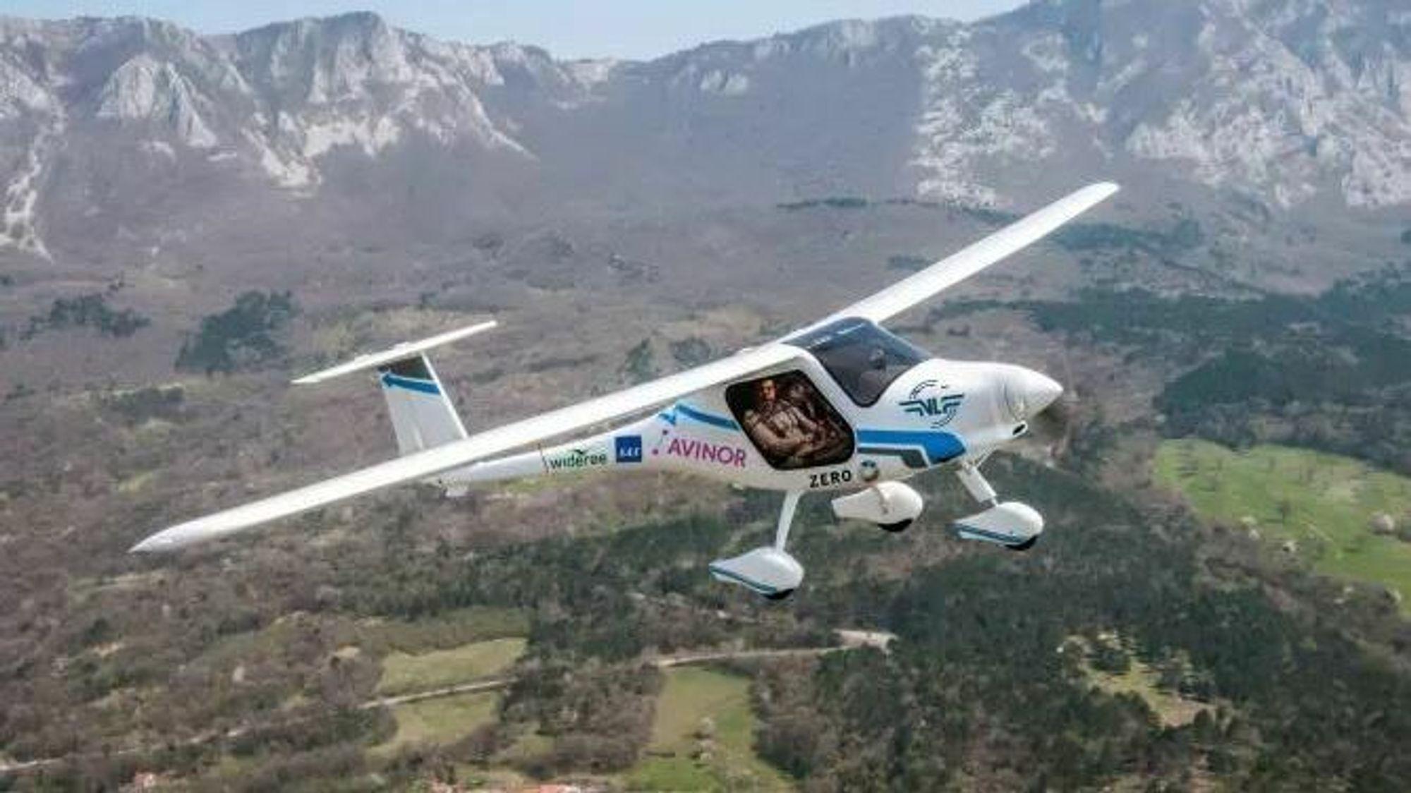 Avnior har allerede en stund drevet testflyvninger med elfly.