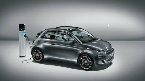 Fiat 500 kommer som ny elbil.