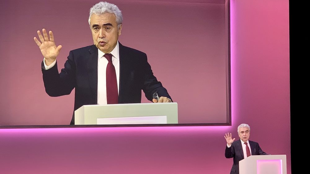 Fatih Birol, direktør for det internasjonale Energibyrået, IEA.