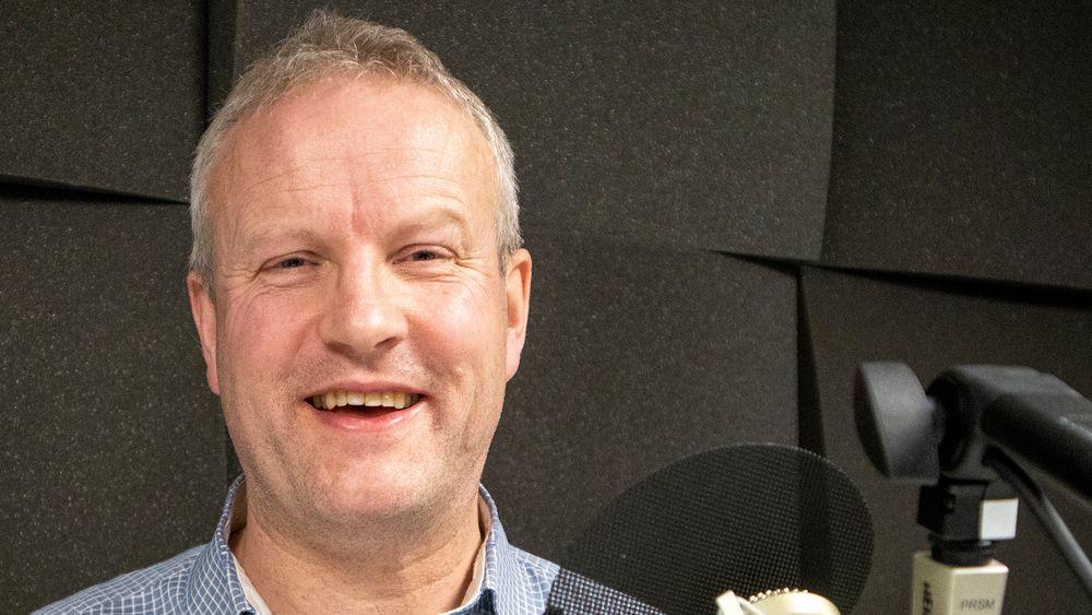 Gründer, forsker og foreleser: Håkon Bryhni er svært opptatt av og begeistret for 5G.
