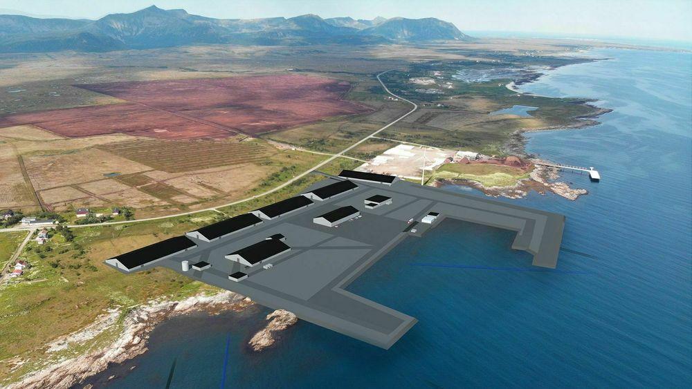 Slik skal anlegget til Andfjord salmon se ut når det står klart.