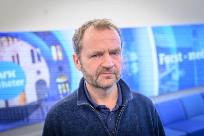 Programredaktør Knut Magnus Berge i NRK.