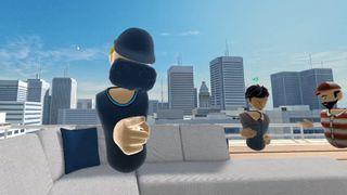 Her jobber kollegaene sammen i VR - etterpå tar de en virtuell drink i fellesskap