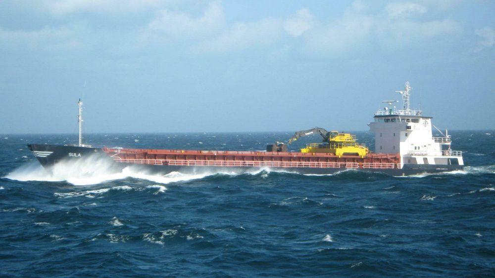 MV Sula er en selvlosser bygget i 1993.