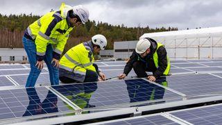 21 millioner kvadratmeter står klar for solkraftproduksjon